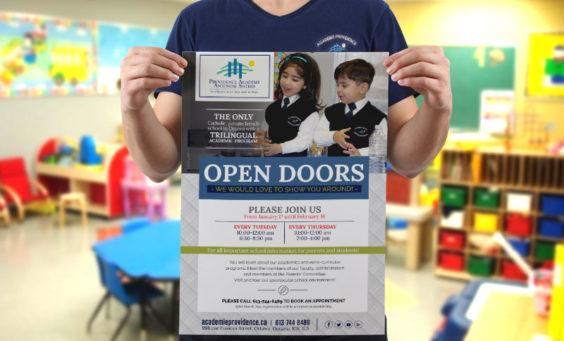 Open Doors at our school in Ottawa